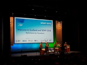 Energetic opening of SEWF 2018 | photograph by Mara van Twuijver